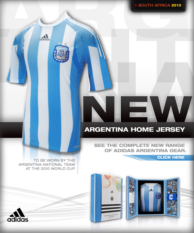 Images clothes of the 2010 World Cup teams 7602